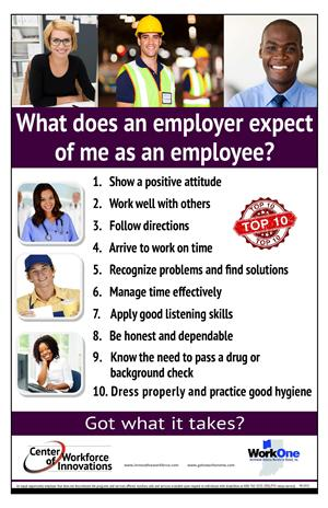 Employers Expect...
