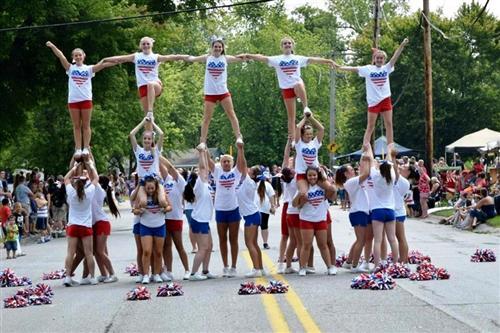 Parade pyramid