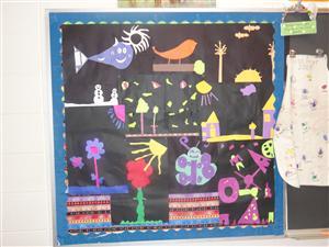 3rd Grade Geometric and Organic Shape Designs