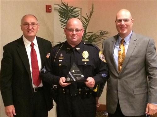 Cpl. Clemmons SRO of the Year